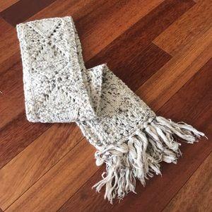 Free People Wool Knit Scarf